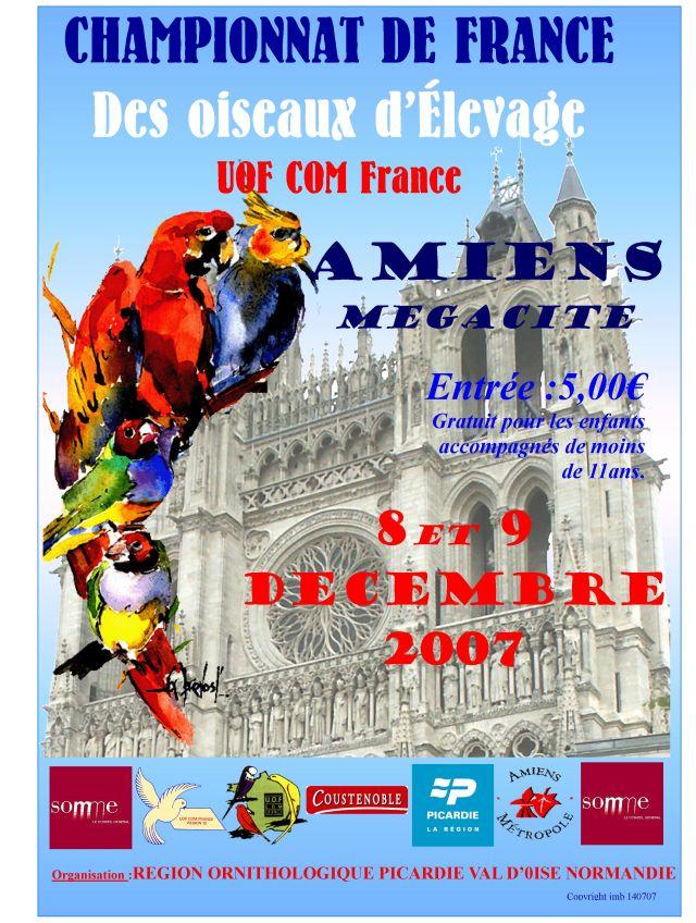 Affiche france 2007
