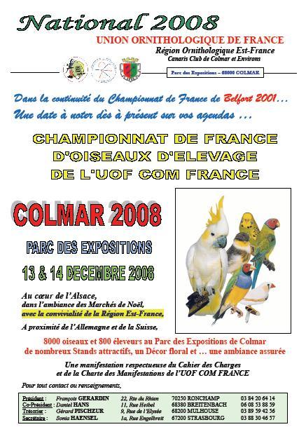 Affiche france 2008